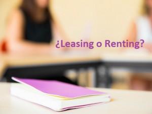 Ventajas e inconvenientes del Leasing y Renting