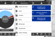 apps y notas de gastos