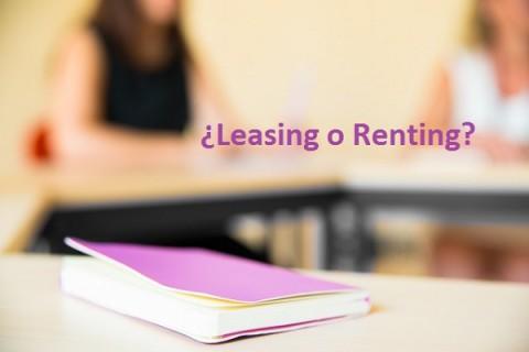 leasing, renting, leasing y renting, ventajas e inconvenientes, empresas en positivo